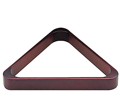 Imperial Billiard/Pool 8-Ball Rack, Hardwood Triangle Fits 2-1/4