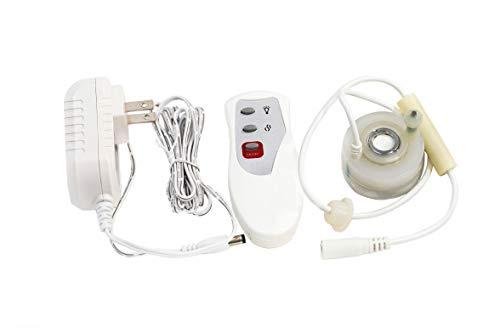 XBrand MMRC190 Mist Maker Fogger w/Remote Control, 1 inch Tall, White