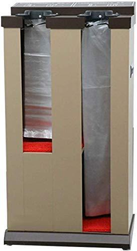DJY-JY Inoxidable máquina de la Cubierta de Paraguas de Acero Hornear máquina de Bolsa de Paraguas automático de Doble Cabeza (Albaricoque)