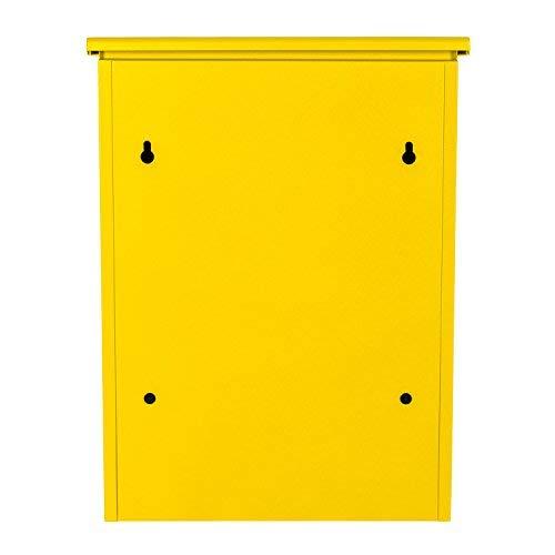 Paketbriefkasten Smart Parcel Box, gelb - 6