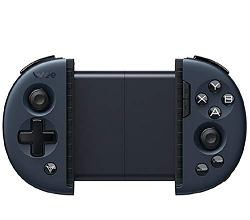 Flydigi Controlador de Juegos móvil Wee 2T Compatibilidad con Body Sensation Convertidor de Teclado y ratón Gamepad iOS/Android Juego móvil (Azul Medianoche)