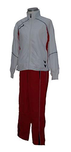 Hummel Trainingsanzug Women, White/red, Größe:XS(34)