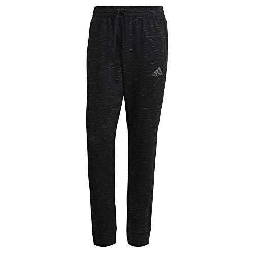 adidas M Mel PT Pantalones de compresin, Black Melange, Hombre