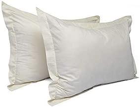 """MISR 300 TC 100% Cotton 2 Piece Cotton Pillow Cover Set,Pillow Case 17""""x 27""""Ivory"""