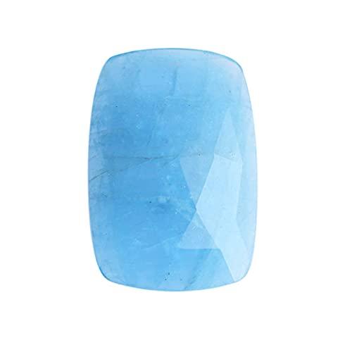 Cabujón de aguamarina azul, tamaño 30x20x7 MM, aguamarina brasileña, cabujón azul, piedra tallada tallada, joyería que hace los proveedores AG-3492
