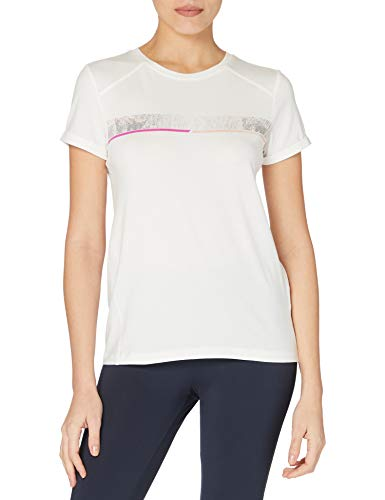 ESPRIT Sports Damen COO s-Sleeve T-Shirt, Off White (110), M