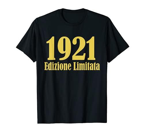 1921 Edizione limitata 100 Anni Compleanno Uomo Donna Regalo Maglietta