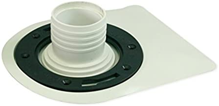 SUPPLY GIANT BNT Aqualoq Master55029 Masterseal Gasket Universal Toilet Seal for Secure Watertight Protection, 3 in. x 4 in, Thermoplastic Rubber, White
