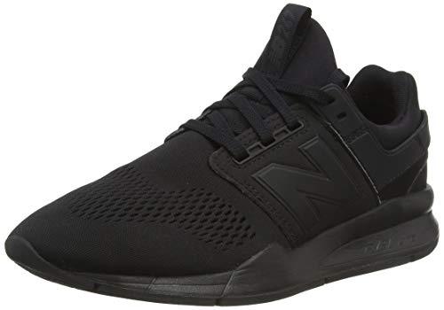 New Balance Men's 247v2 Sneaker, Black/Black, 8.5 2E US
