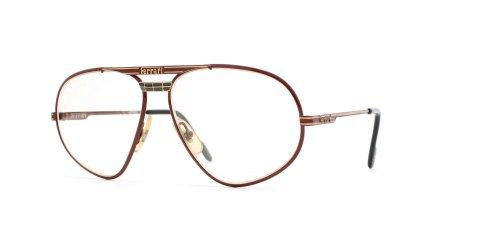 Ferrari 12 580 rojo aviador certificado vintage gafas marco para hombre