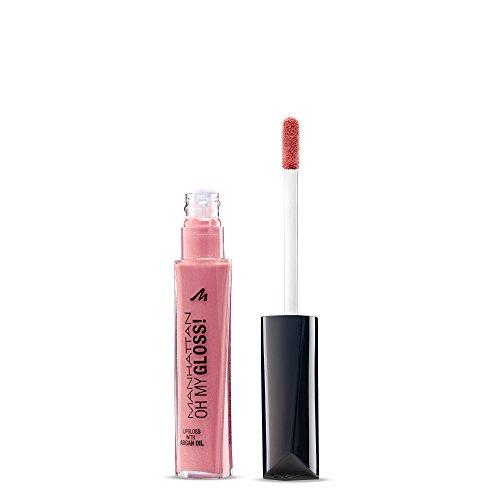 Manhattan Oh My Gloss! Lippenpflege mit frischem Glanz, Feuchtigkeitsspendender Lipgloss, Farbe...