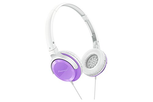 Lowest Price! Pioneer SE-MJ502-V SE-MJ502 Fully Enclosed Dynamic Headphones SEMJ502 Violet