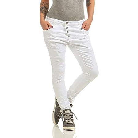 Details zur Lexxury 10118 Knackige Damen Jeans Röhrenjeans Streetstyle