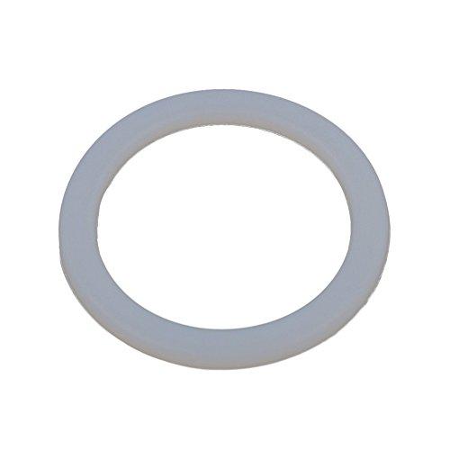 Demarkt Silikon-Dichtungsring für Kaffeekanne Dichtungsring Ersatzdichtung Ring für 6 Tasse Espressokocher Mokkakannen Size 5.6 cm