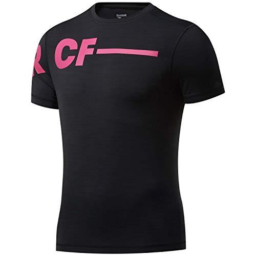 Reebok RC ACTIVCHILL tee Camiseta, Hombre, Negro, L