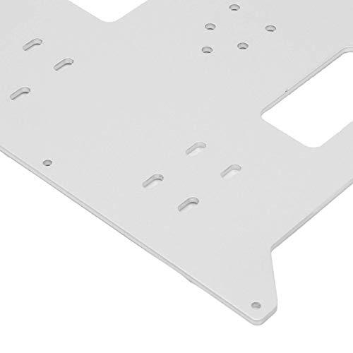 Extruder Hot Bed Stützplatte Heizbett Aluminium Platte Platte Aluminium für Duplikator