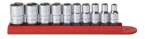 Apex Tool Group KD80303 10 Piece Socket standard Set 0,25 Drive - 6 points