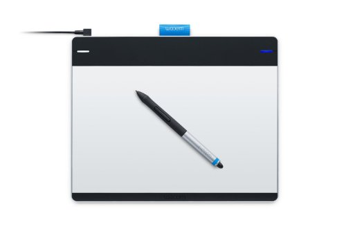 Wacom Intuos Pen and Touch Medium Tablet CTH680 (Certified Refurbished)