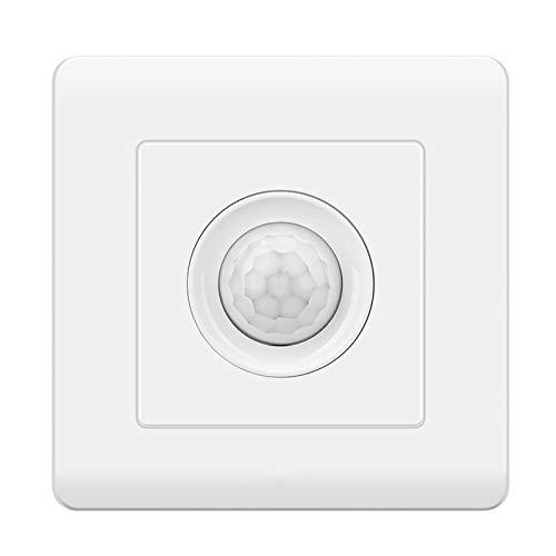 Foicags Interruptor de sensor de infrarrojos del cuerpo humano Interruptor de control de luz inteligente Interruptor de tres hilos Lámparas de interior Lámparas de interior Lámparas de control del int