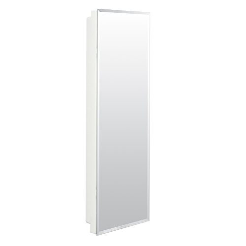 American Pride 9836WB1AR – Recessed Beveled Polished Edge Mirror Medicine Cabinet 12