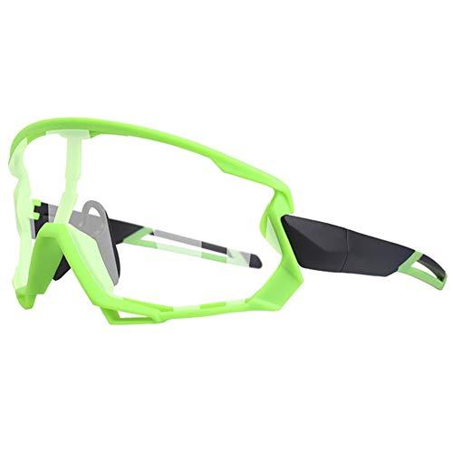 Gafas Sol Fotocromáticas Lentes con 5 Lentes Protección UV400 Ultraligero para Ciclismo Running Deportes Al Aire Libre para Hombre Y Mujer,6
