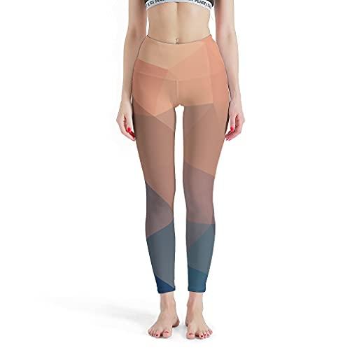 DAMKELLY Store Polainas deportivas para mujer, diseño de dados gradientes, con impresión en tobillos elásticos, color blanco, XL