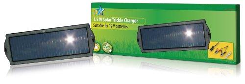 HQ 12V 1.5W Solar Negro - Cargador (12 V, Sealed Lead Acid...