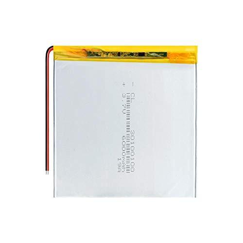 ahjs457 3.7V 6000mAH 30100100 batería de Iones de Litio de polímero para Tablet pc TM-7858 TZ 82 baterías de 7 Pulgadas 8 Pulgadas 9 Pulgadas