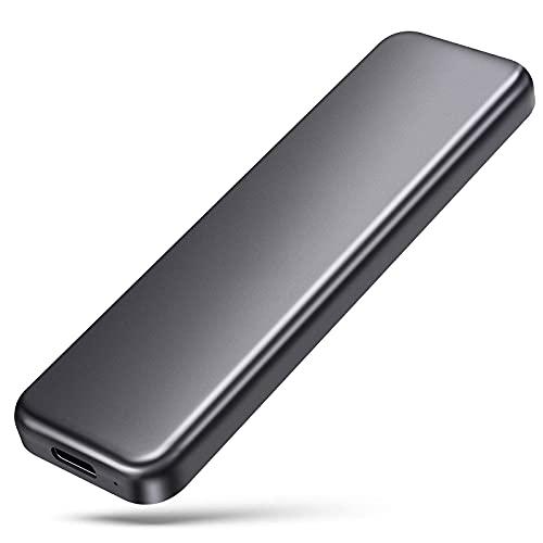 外付けSSD ポータブルSSD 1TB Type-C 【PS4/PS4 Pro/Mac対応】 USB 3.1(Gen2) 最大540MB/s 暗号化機能付き ライターサイズ UM003-1TB