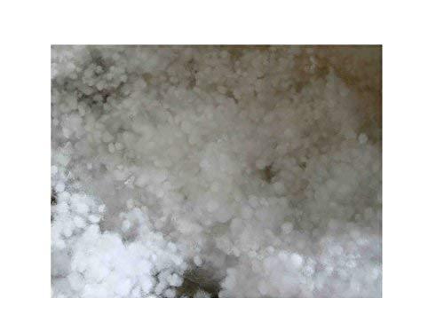all4all Faserbällchen Kissenfüllung Füllmaterial 1kg Faserkügelchen Kissenfüllung Füllmaterial