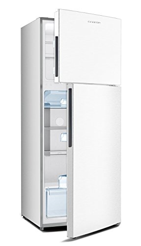 Frigorífico INFINITON FGC-1776 425 litros,A+, 1.80, 2 Puertas, Luz Interior LED, Control de Temperatura mecánico, FRESH ZONE (Blanco)