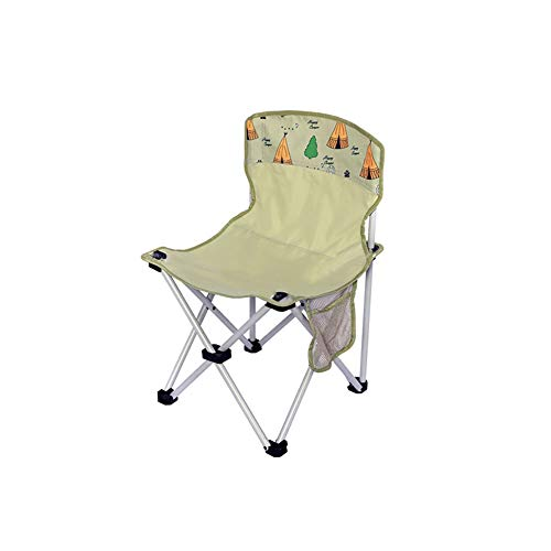 Adult Leisure Outdoor Folding Chair, Wear-Resistant and Tear-Resistant Oxford Fabric Chair Surface, Grass Green D-20-11-15