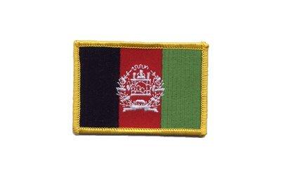 Aufnäher Patch Flagge Afghanistan - 8 x 6 cm