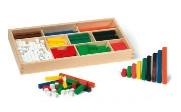 A set of 300 cuisenaire rods