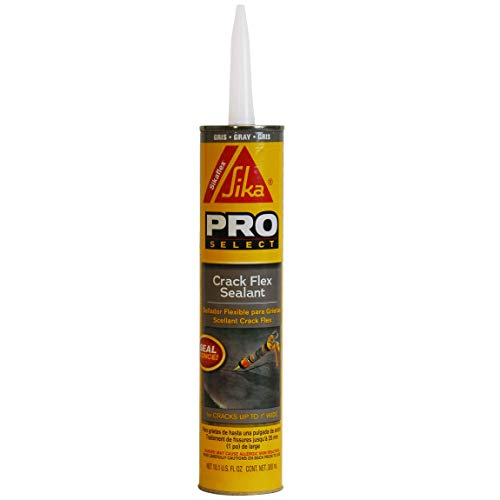 SIKA 427706 Sikaflex Crack Flex, 10.1 fl. oz Sealant, 10-Ounce, Gray