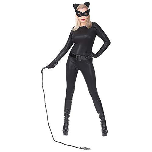 WIDMANN Disfraz de Catwoman Negro para Mujer S