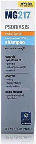 MG217 Medicated Conditioning Coal Tar Formula Shampoo 8 oz (Pack of 8)
