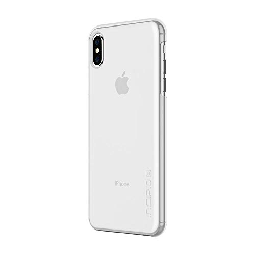 Incipio Feather IPH-1762-CLR - Cover per Apple iPhone Xs Max, ultra sottile, leggera, compatibile con Qi, IPH-1762-CLR