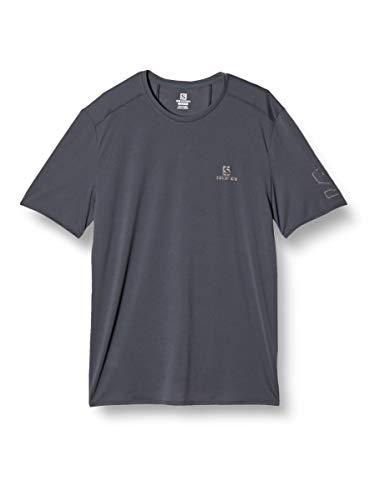 SALOMON XA Trail T-Shirt Short Sleeve M Ebony