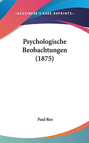 Psychologische Beobachtungen