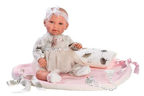 Llorens 74062 Llorens 74062 weinende Puppe Mimi Babypuppe, beige
