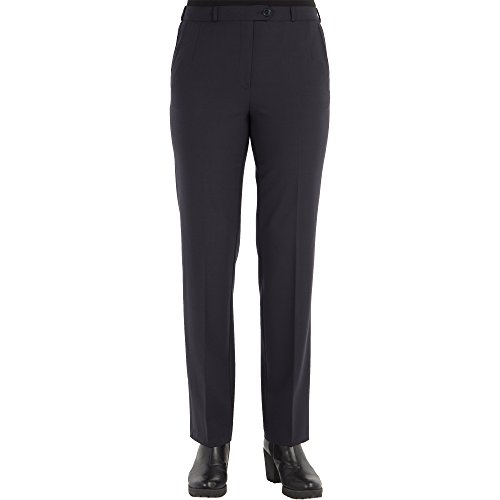Zerres Damen Hose Anika Straight Fit Comfort S Stretch, Größe:19;Farbe:69 Marine