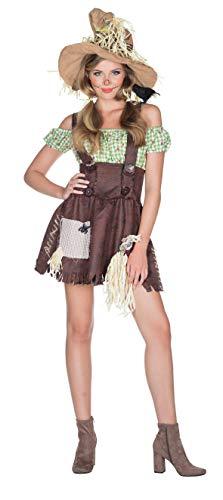 Rubies Disfraz de Mujer Vestido de espantapájaros Carnival Farm Halloween (38)