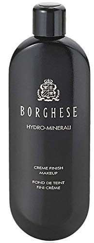 Borghese Hydro-Minerali Foundation Makeup (Beige) Creme Finish, Ideal for Medium - Normal, Dry Skin - 1.7 Fl Oz