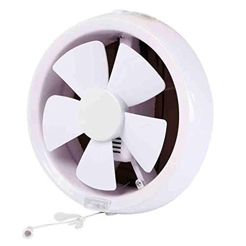 LANDUA Ronda de Fans de Escape, de 8 Pulgadas de habitación a habitación Ventilador de ventilación, plástico Escape Ventilador Fuerte