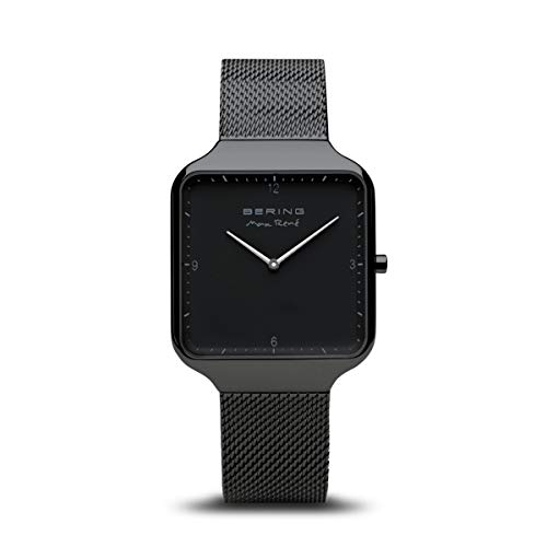 BERING Herren Analog Quarz Uhr mit Edelstahl Armband 15836-123