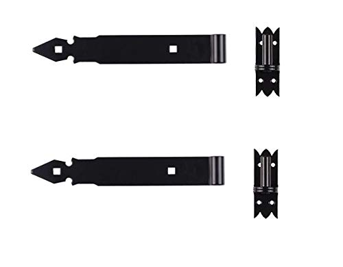 2 Ladenband, 250 mm x 45 mm x 4 mm,14 mm Kloben, schwarz