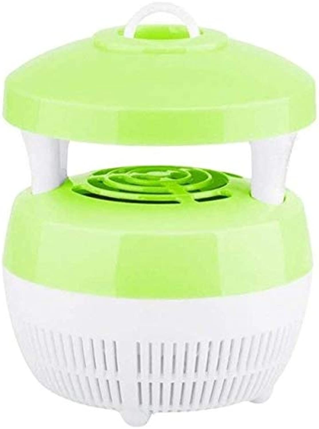 Household Mute USB Mosquito Killer UV LED Lamp Zapper Night Light Photocatalyst Inhalant Mosquitos Trap Bug Pest Control   Green