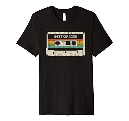 Vintage Best of 2000 19th Birthday Cassette Premium T-Shirt