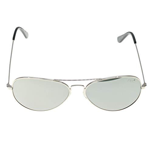CHRISTIAN GAR Neo Ps2007 C3 Gafas De Sol Unisex Colección Neo Complementos 2020 Montura De Metal Color Plateado